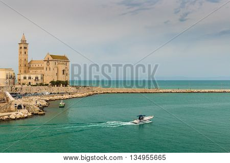 Trani Cathedral, Puglia Region, South Of Italy