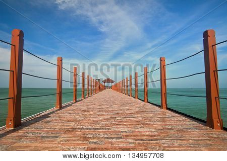 Jetty view of Penang National Park, Malaysia