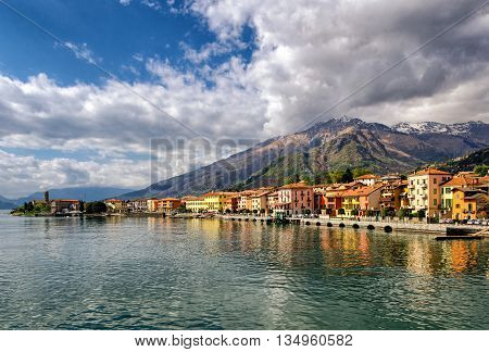 Gravedona (Lago di Como) at golden hour