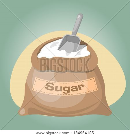 Sugar bag icon Sugar bag icon eps 10 Sugar bag icon vector Sugar bag icon jpg. Vector illustration