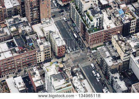 New York City Manhattan Midtown View