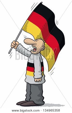 Germany Soccer Supporter