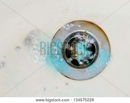 Cleaning Plug Hole With Chemicals