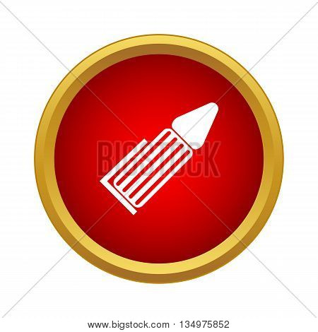 Marker Icon in simple style isolated on white background
