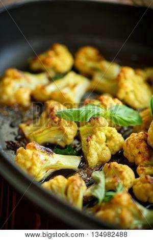Cauliflower Baked In Batter