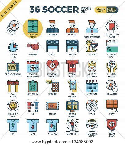 Football / Soccer Icons