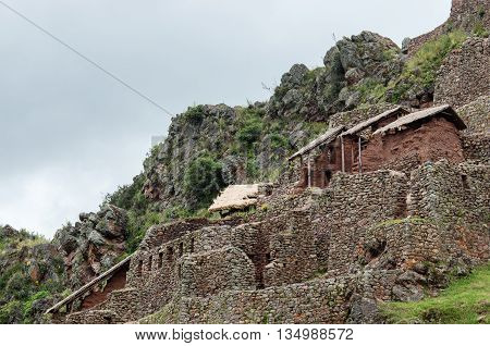 Pisac - Inca Ruins In The Sacred Valley In The Peruvian Andes, Peru