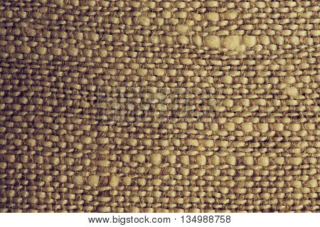 Natural Sackcloth texture background macro shot closeup
