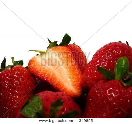 Strawberries Background #2