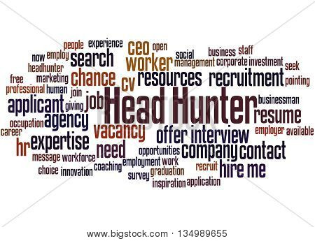Head Hunter, Word Cloud Concept 7