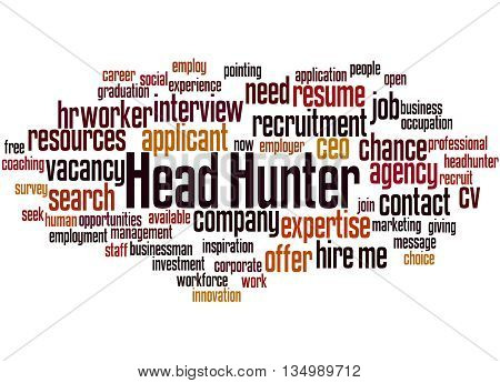 Head Hunter, Word Cloud Concept 8