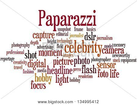 Paparazzi, Word Cloud Concept 4