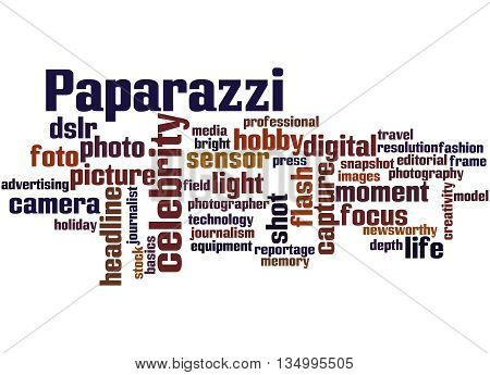 Paparazzi, Word Cloud Concept 6