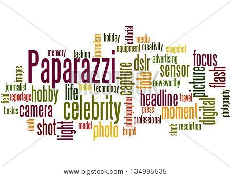 Paparazzi, Word Cloud Concept 7