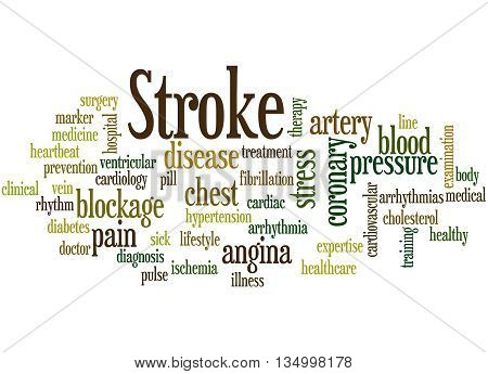Stroke, Word Cloud Concept 3