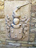 foto of armorial-bearings  - coat of arms santa barbara castlealicante spain - JPG