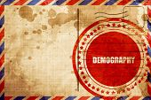 demography poster