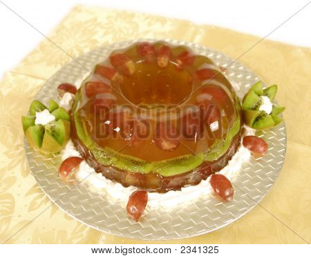 Grape Jello Dessert