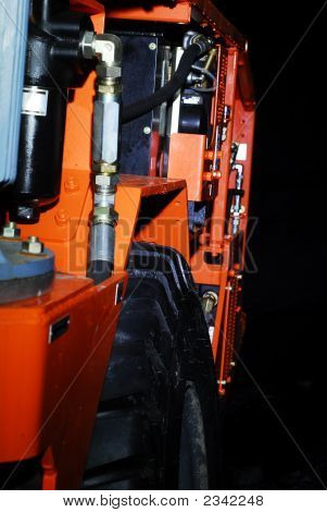 Heavy Duty Mine Machine Angle View