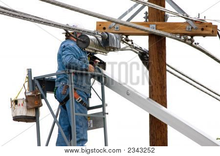 Utility Line Worker