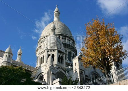 Basilica On Montmartre, Paris