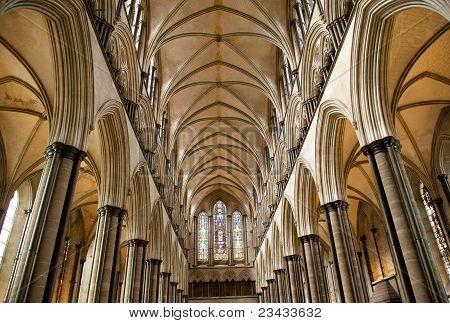Techo de Catedral de Salisbury