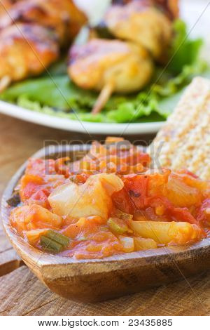 Tomato And Paprika Salsa