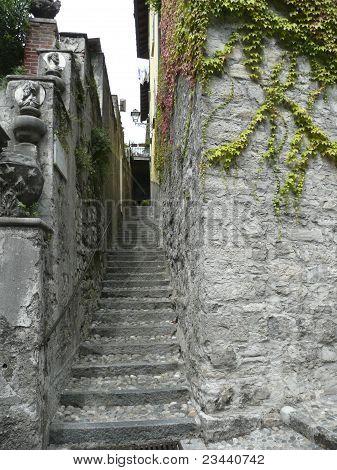 Street In Varenna