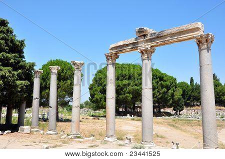 Efesus and it's ruins