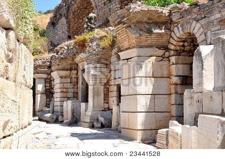 Streets of ancient Efesus