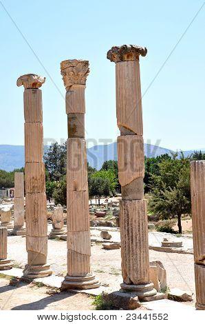 Ruins of ancient Efesus