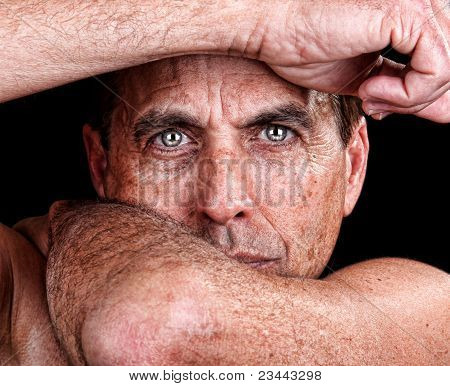 Man in distress