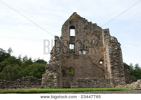 Inside Kildrummy Castle