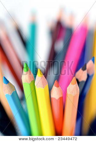 bunte Bleistifte