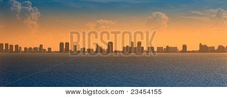 Panoramic View Of Ft. Lauderdale, Florida