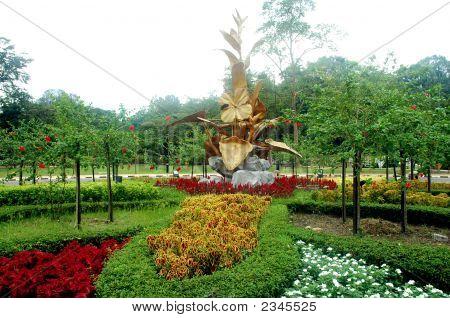 Lake Gardens In Kuala Lumpur Malaysia