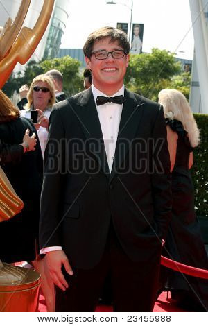LOS ANGELES - SEPT 10:  Rich Sommer arriving at the Creative Primetime Emmy Awards Arrivals at Nokia Theater on September 10, 2011 in Los Angeles, CA