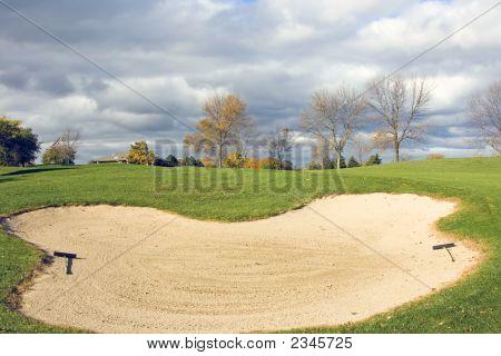 Perigo de golfe