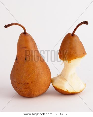 One Plump Pear And One Skinny Pear
