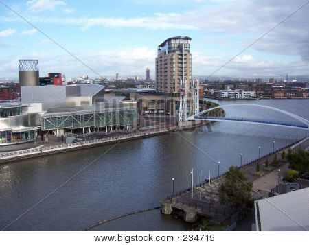 View Across The Manchester Ship Canal