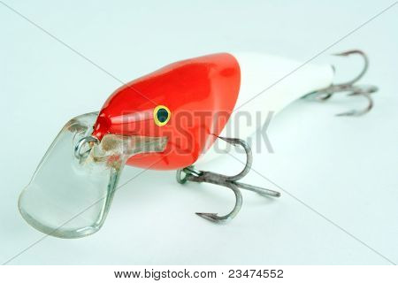 Fishing lure closeup