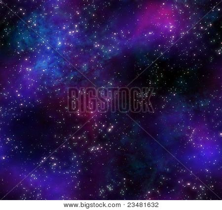 great background image stars and nebula in night sky