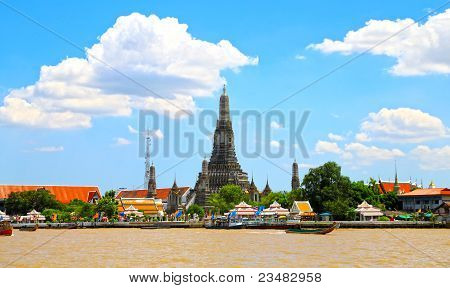 Thai temple, Wat Arun.