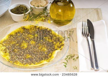Lebanese Manouche Or Manoushe