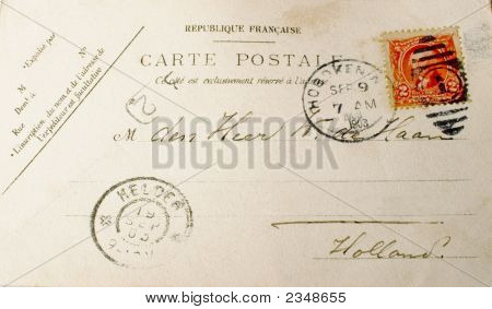 Vintage Postcard Of 1903
