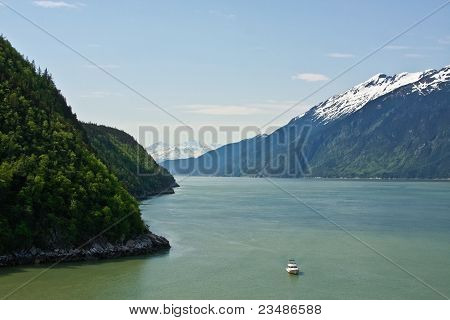 Boating Into Skagway