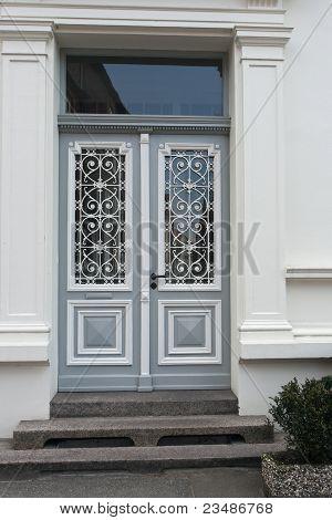 Grey Double Door