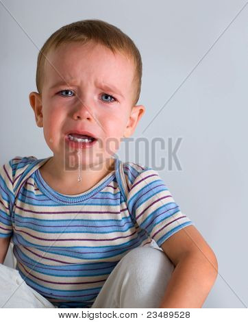 Crying Boy