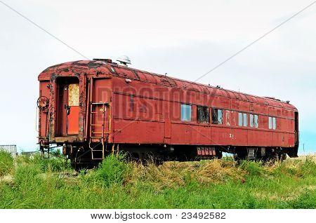 Old Forgotten Railcar