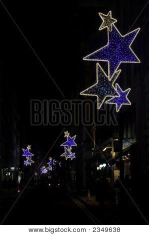 Christmas Lights, London, Off Regent Street